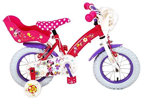 Disney, Bicicletta per Bambina con Licenza, Fuxia, 12'