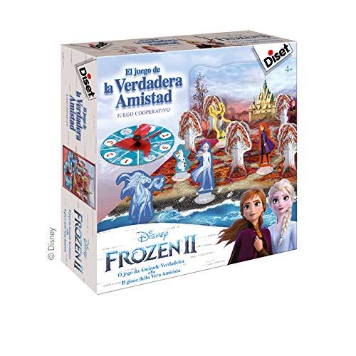 Diset Frozen 2-El Juego de la verdadera Amistad (49243): Amazon.es ...