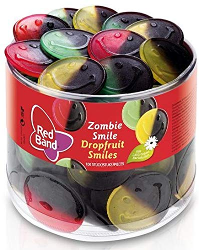Red Band - Zombie Smile - Fruchtgummi - Lakritz - 1er Pack (1 x 1.2 kg)