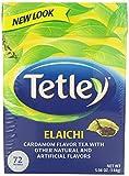 Tetley Tea, Elaichi, 72 Tea Bags