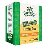 Greenies Grain Free Treats for Dogs - Petite - 27oz