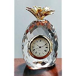 Badash Crystal Mini Pineapple Clock SU325