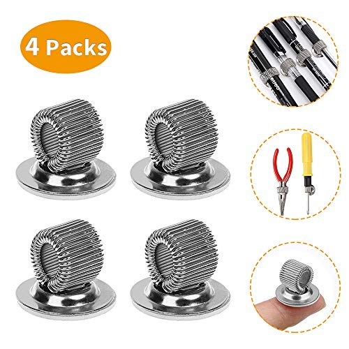 Pen Holder Clips Self Adhesive - Pencil Holder for Notebook Journal Stocking Suffers for dad Under 10 (4 Pack)