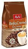 Melitta Ganze Kaffeebohnen, 100% Arabica, vollmundig und ausgewogen, Stärke 3, BellaCrema LaCrema, 1kg