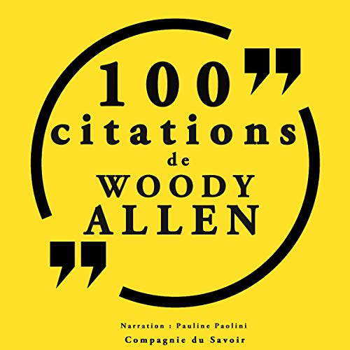 100 citations Woody Allen cover art