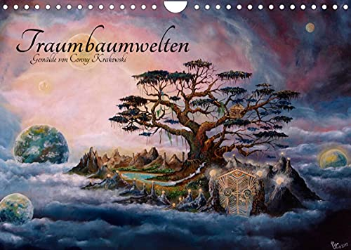 Mondes des arbres de rêve - Peintures de Conny Krakowski