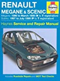 Renault Megane and Scenic Petrol and Diesel Service and Repair Manual: 1996 to 1999 (Haynes Service and Repair Manuals) by Jeremy Churchill(2006-11-01)