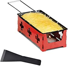 Tostadores queso prácticos, Mini Cheese Grill antiadherente Bandeja de horno Mantequilla Queso Barbacoa plato, herramientas de uso doméstico barbacoa para hornear,Rojo,S