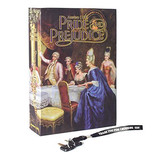 Real Paper Book Locking Book safe with Key Lock Secret Hidden Safe Anti-Theft Safe Secret Box- Pride and Prejudice