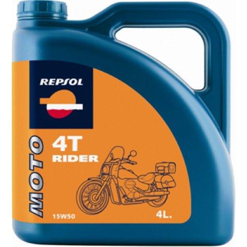 REPSOL Aceite Moto Rider 4t 15w50 4l