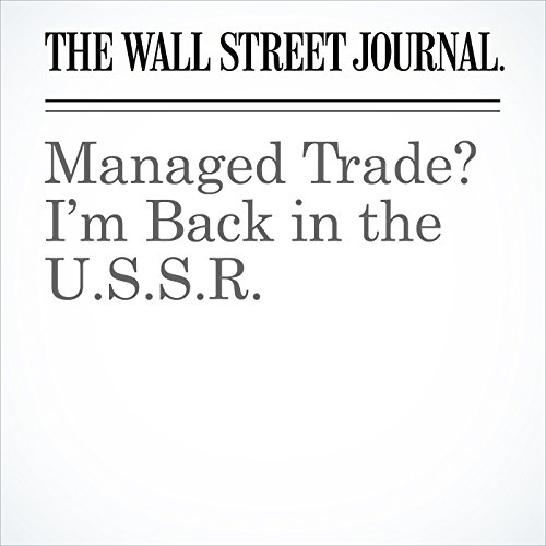 Managed Trade? I'm Back in the U.S.S.R. copertina