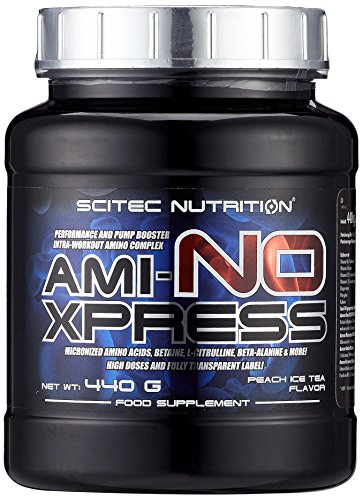 Scitec Nutrition Amino Ami-NO Xpress, Pfirsich-Eistee, 440g