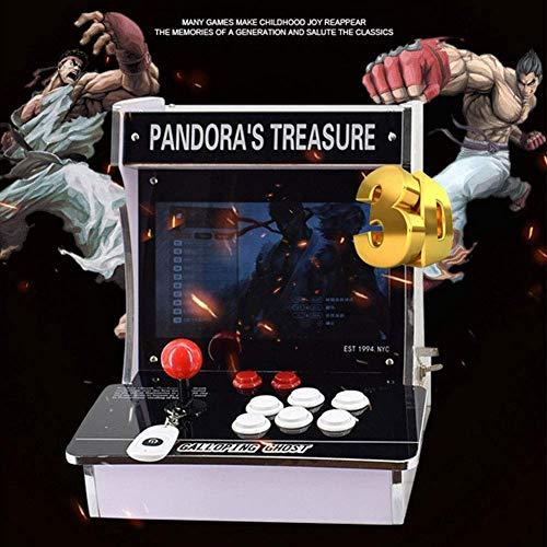 ZQYR GAME# Console de Jeux vidéo Arcade, 2350 en 1 Console de Jeux vidéo 1080 HD Retro avec HDMI/VGA USB Console Double Arcade, Model: BY-2350,B