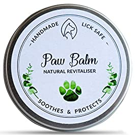 PET IMPACT All-Natural Dog Paw Balm, Heals Dry Cracked Paws & Noses, Soothing Protection & Nourishment, Lick Safe & Handmade, 60ml