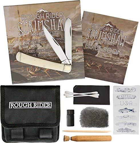 Rough Rider Scrimshaw Set RR1579