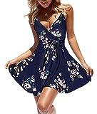 casuress Women Dress Summer V Neck Mini Floral...
