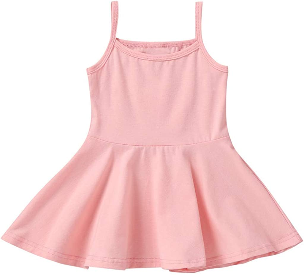 Amazon.com: KMBANGI Toddler Infant Baby Girl Basic Plain Spaghetti