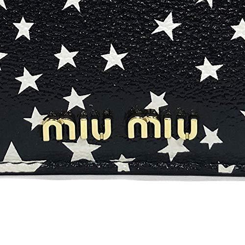 (ミュウミュウ)MIUMIUコインケースマドラスレザー5MB0062D51F0P51MADRASSTELLEカードケースNEROブラック[並行輸入品]