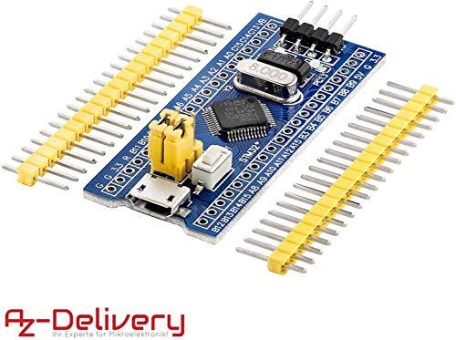 AZDelivery STM32 STM32F103C8T6 Development Board Modul mit ARM Cortex M3 Prozessor für Arduino mit gratis eBook!