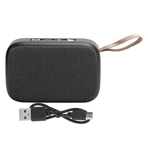 Dilwe Altavoz Bluetooth, Mini subwoofer USB portátil estéreo inalámbrico con Radio FM,...