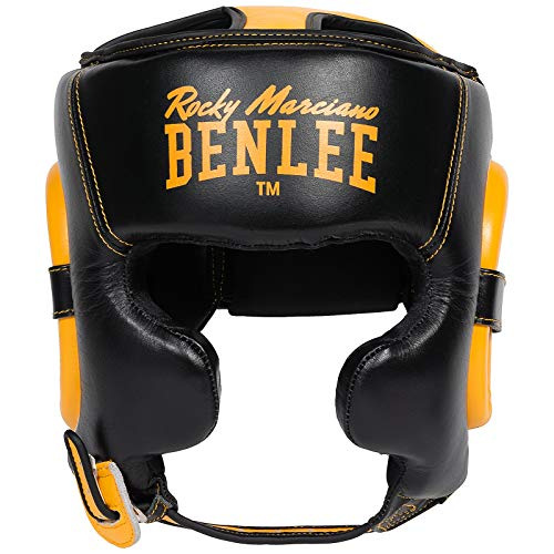 Benlee Kopfschützer Brockton, Größe:S/M, Farbe:Black/Yellow