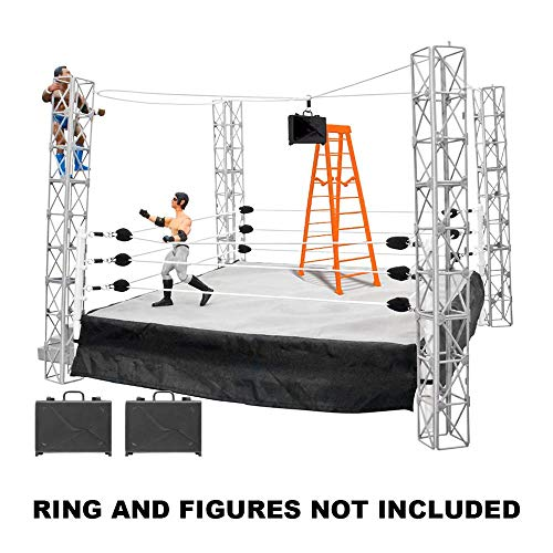Figures Toy Company Cash in The Briefcase Action Figure Playset [Ring NOT Included]