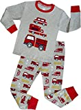 Truck Boys Pajamas Toddler Sleepwear Clothes T Shirt Pants Set for Kids Size 3Y