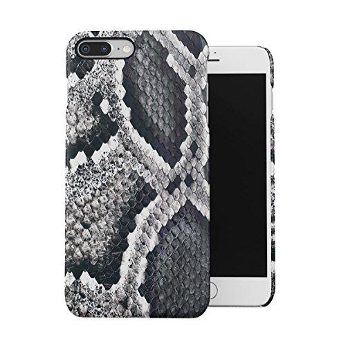 Snake Skin Pattern Dünne Handy Schutzhülle Hardcase Aus Hartplastik Hülle Kompatibel mit iPhone 7 Plus/iPhone 8 Plus Handyhülle Case Cover