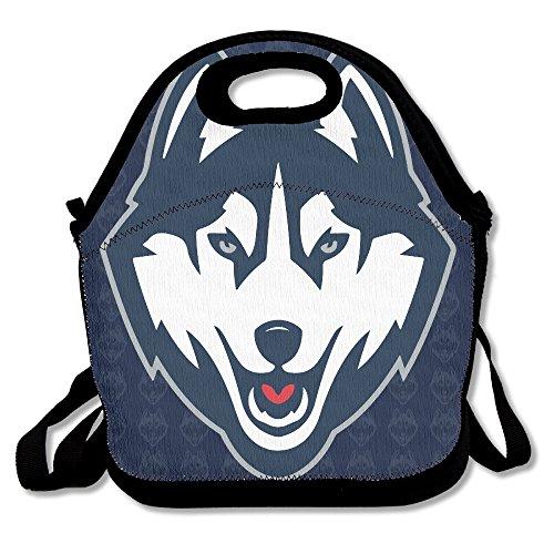 Connecticut UConn Huskies Logo Lunchtasche