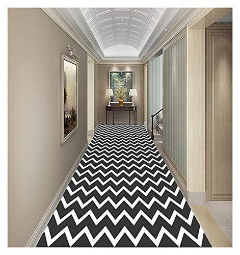ditan XIAWU Schneidbarer Treppenteppich Gang Bett rutschfest Zuhause (Color : A, Size : 60x600cm)