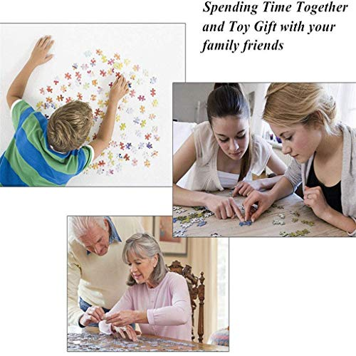 SNOVELY 1000 PCs Jigsaw Puzzles for Women Men Teens, Landscape/Building Puzzles 27.56 x 19.69, Leisure Educational Toys for 14year+ Kids