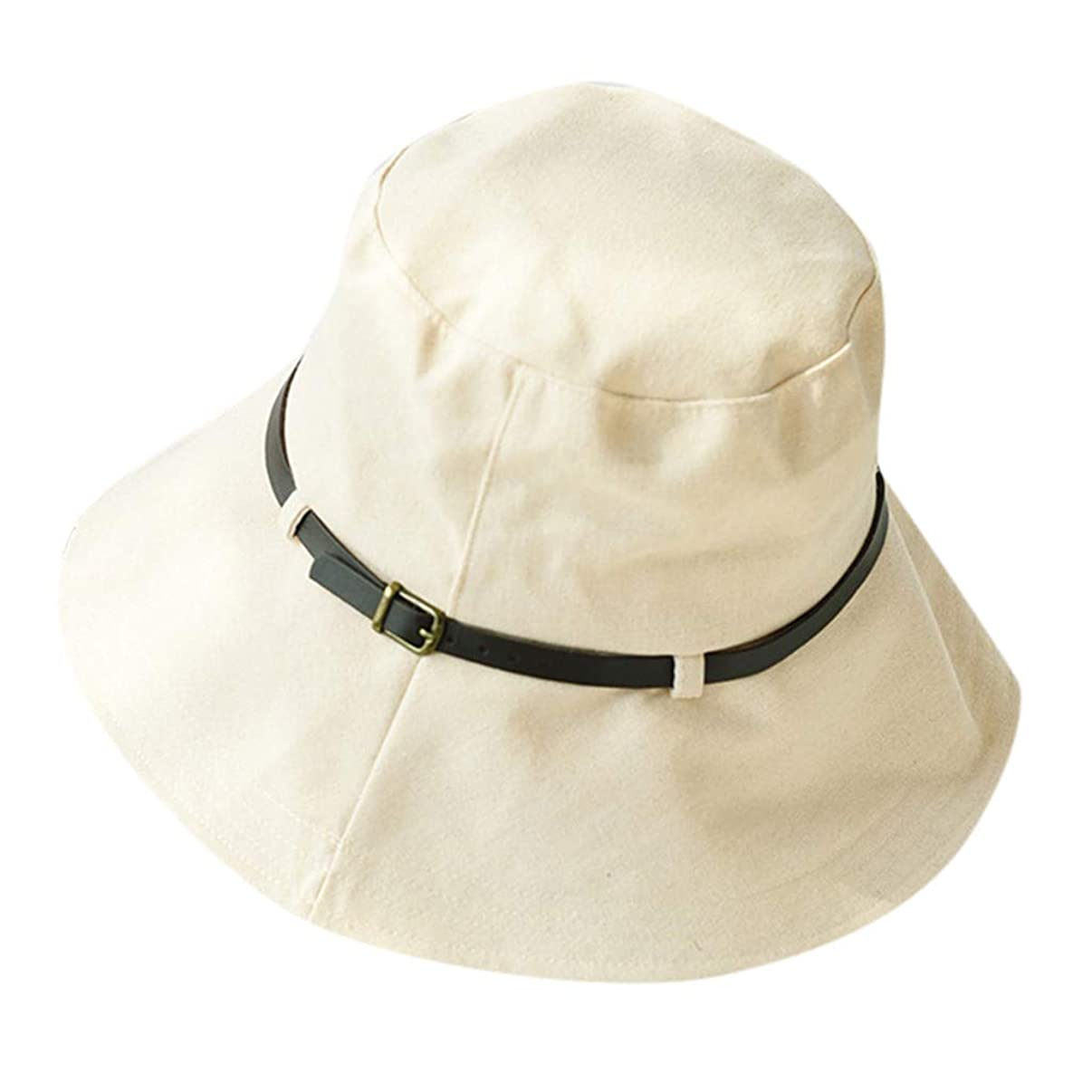 WYTong Summer Fashion Fisherman Hat For Women Cotton Sun Hat Flip Cap Outdoor Activity Uv Hat Can Be Packed Visor