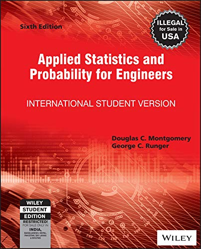 Applied Statistics and Probability for Engineers, Isv