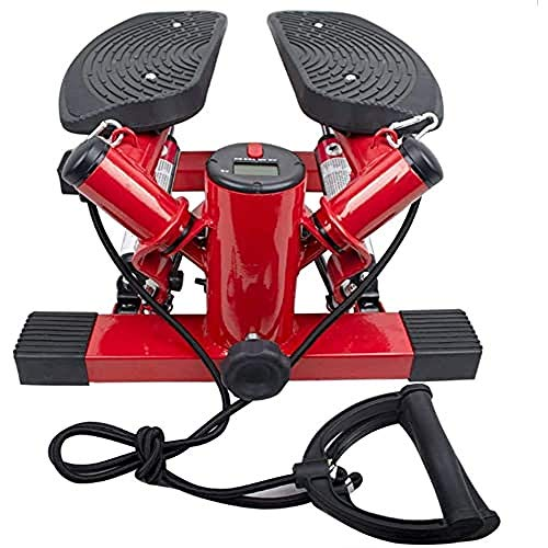 FFitness Swing, Stepper with Rope Unisex Adulto, Rosso, Media
