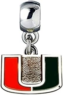 Duke Blue Devils European Charm for Bracelet Necklace /& DIY Jewelry