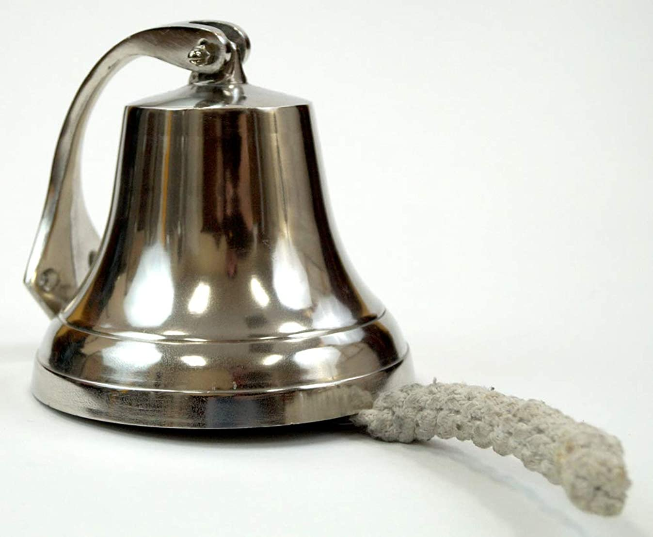 Coastal Space Designs Solid Brass Ships Bell 6