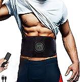 Yongqin Estimulador de músculos Abdominales, Entrenador de Abdominales, estimulador Muscular, Dispositivo de Gimnasio portátil inalámbrico Recargable por USB, Fitness portátil