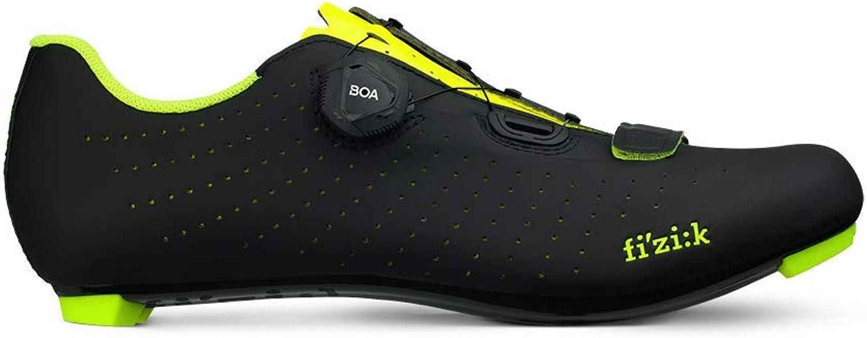 fizik Tempo Overcurve R5 Rennradschuhe schwarz/gelb Fluo Fluo Fluo 2019 Rad-Schuhe Radsport-Schuhe B07HYNH3BB c4a20c