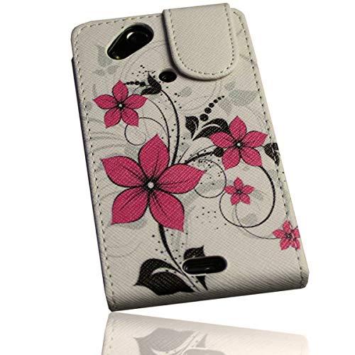 PeKa Internethandel Design Flip Style–Campionato Design No. 5–Cover Case Custodia–per Sony Ericsson Xperia X12–Arc–Arc S