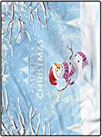 カーペット 防音対策マット 手触りよく らぐ 160*230 寝室の床のソファのリビングルームのカーペットカバーのためのクリスマスデスクマット雪に覆われた冬のノエル 春夏 防ダニ・抗菌・防臭 客間