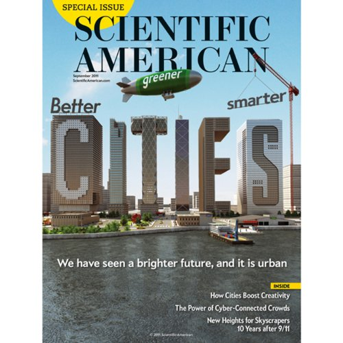 Scientific American, September 2011 cover art