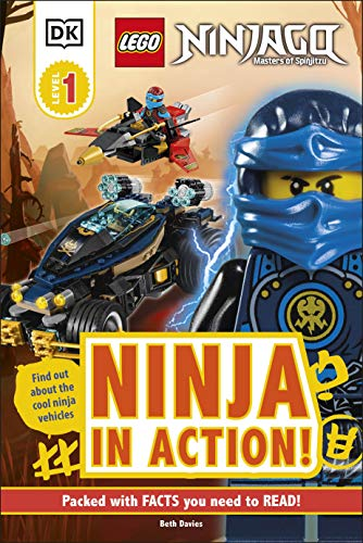 LEGO NINJAGO Ninja in Action! (DK Readers Level 1)