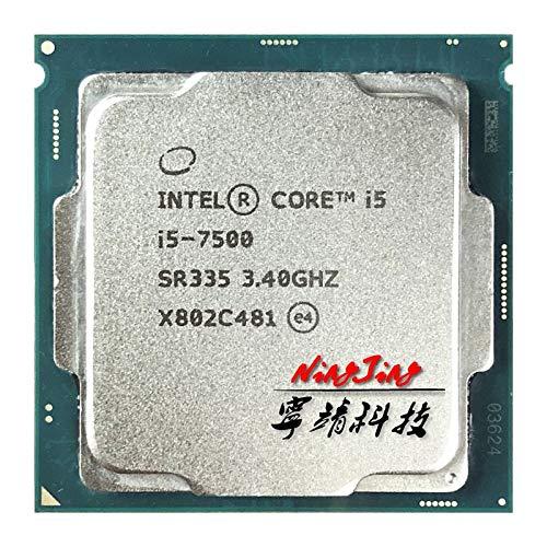 i5-7500 i5 7500 3.4 GHz Quad-Core Quad-Thread CPU Processor 6M 65W LGA 1151