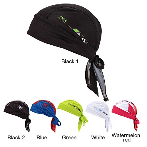 Docooler Outdoor Sport Fahrrad atmungsaktiv Hat Quick-Dry Bike Radfahren Kopftuch Pirat Schal Stirnband - 6