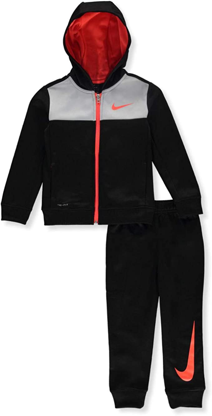 Nike Boys' Dri-Fit 2-Piece Tracksuit Outfit