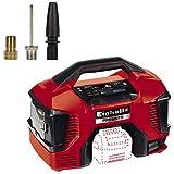 Einhell Akku-Kompressor PRESSITO Power X-Change (Li-Ion, 18/230 V, max. 11 bar, 71 cm Schlauchlänge, Hybrid-Funktion, Hochdruck-, Niederdruckpumpe, inkl. 3-tlg. Adapter-Set, ohne Akku und Ladegerät)