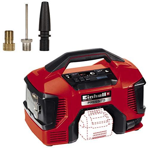 Einhell Compresor Híbrido Pressito Power X-Change (Li-Ion, con cable de corriente o batería recargable; incluye...