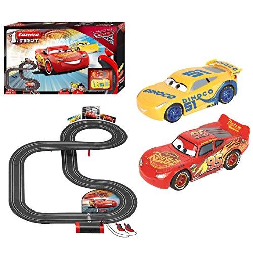 Carrera Toys- Disney·Pixar Cars-First, Colore Nero, 3.5 m, 20063011