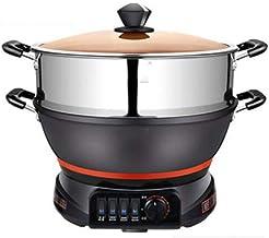 Pot Chauffant Électrique Marmite Électrique Poêle À Frire Électrique Ménage Cuisinière Électrique Multifonctionnelle Wok É...
