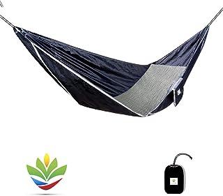 Hammock Bliss Sky Bed - Hangs Like A Hammock, Sleeps Like A Bed - Unique Asymmetrical Design Creates An Amazingly Flat and...